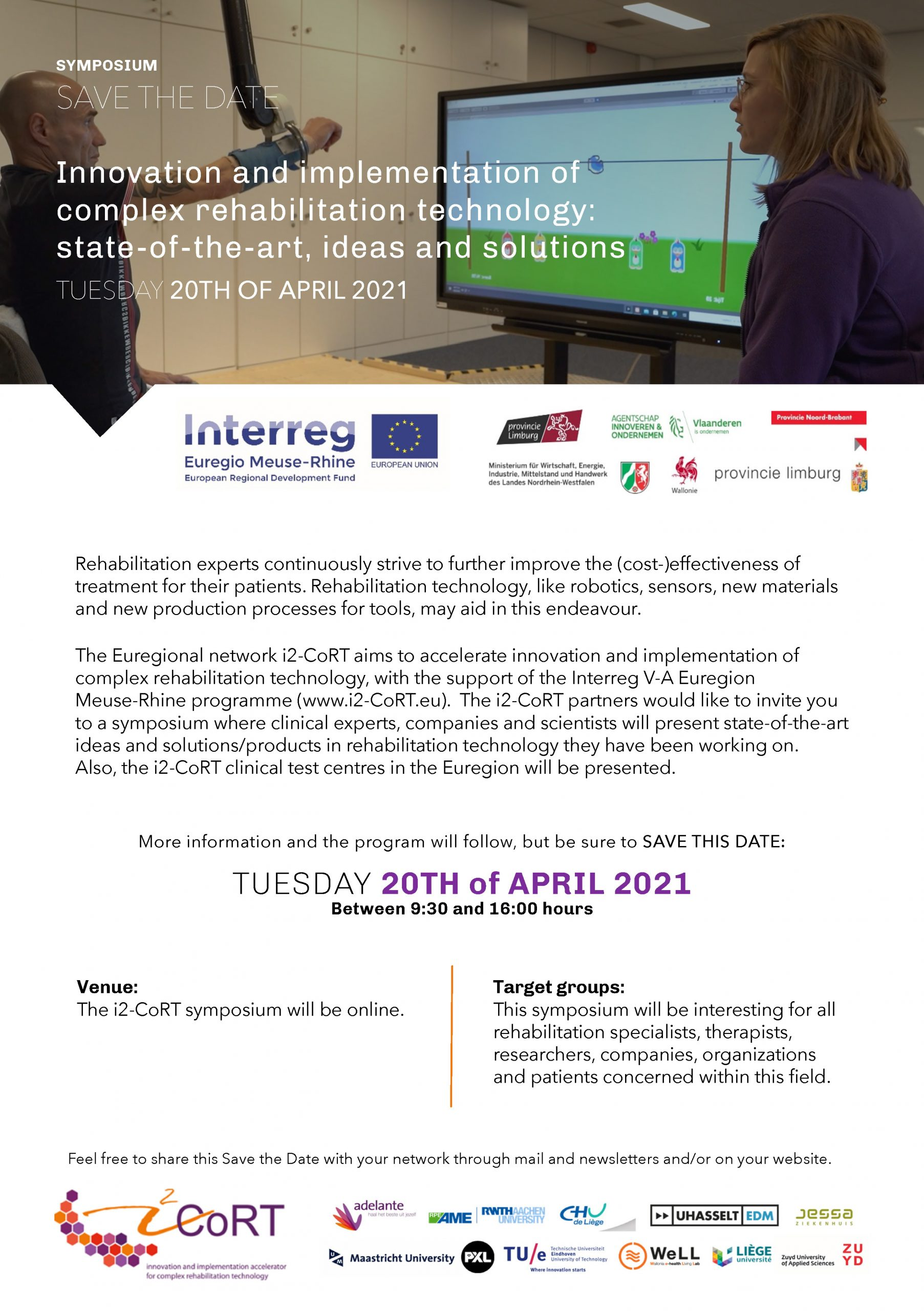 Invitation final i2-CoRT Symposium on April 20 2021